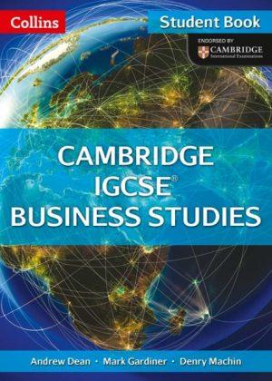 Collins Cambridge IGCSE Business Studies Student Book: Cambridge IGCSE Business Studies Student Book by Andrew Dean