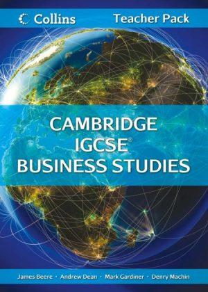 Collins Cambridge IGCSE Business Studies Teacher Resource Pack by James Beere