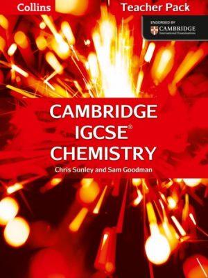 Collins Cambridge IGCSE: Cambridge IGCSE Chemistry Teacher Pack by Chris Sunley