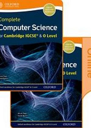 Complete Computer Science for Cambridge IGCSE & O Level Print & Online Student Book Pack by Alison Page