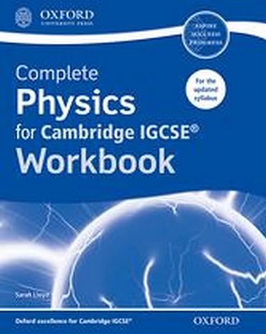Complete Physics for Cambridge IGCSE Workbook by Sarah Lloyd