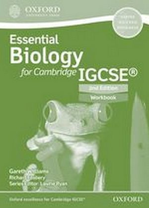 Essential Biology for Cambridge IGCSE Workbook by Ron Pickering