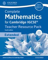 Complete Mathematics for Cambridge IGCSE: Teacher Resource Pack (Extended) by Ian Bettison