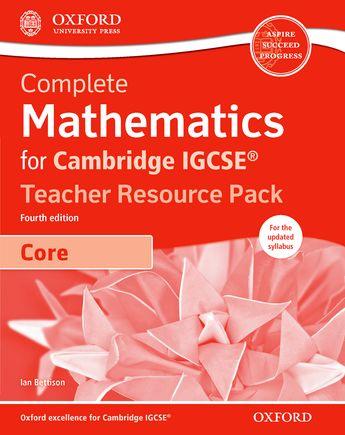 Complete Mathematics for Cambridge IGCSE by Ian Bettison