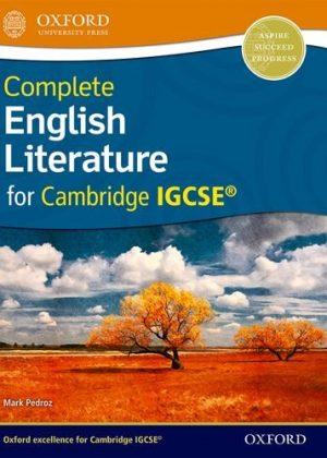 Complete English Literature for Cambridge IGCSE by Mark Pedroz