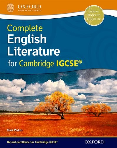 Complete English Literature for Cambridge IGCSE by Mark Pedroz