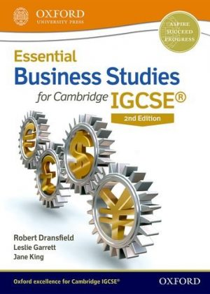 Essential Business Studies for Cambridge IGCSE Student Book: Student book by Robert Dransfield