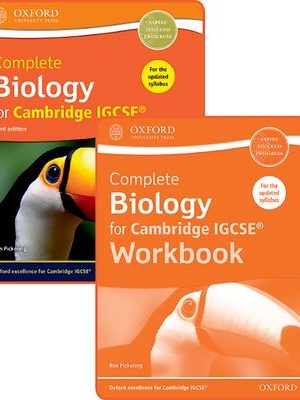 Complete Biology for Cambridge IGCSE Student Book and Workbook Pack by Ron Pickering