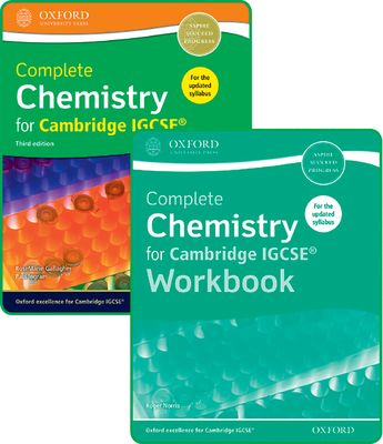 Complete Chemistry for Cambridge IGCSE Student Book and Workbook Pack by RoseMarie Gallagher