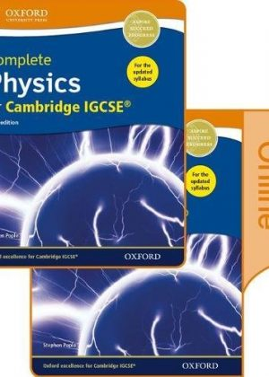Complete Physics for Cambridge IGCSE Print and Online Student Book Pack: Cambridge IGCSE by Stephen Pople