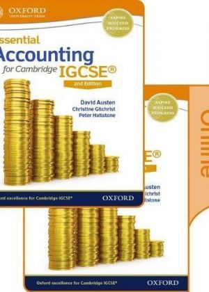 Essential Accounting for Cambridge IGCSE Print and Online Student Book Pack by David Austen