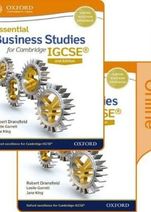 Essential Business Studies for Cambridge IGCSE Print and Online Student Book Pack: Cambridge IGCSE by Robert Dransfield