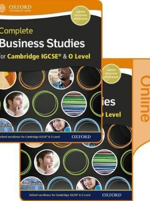 Complete Business Studies for Cambridge IGCSE and O Level Print & Online Student Book by Brian Titley