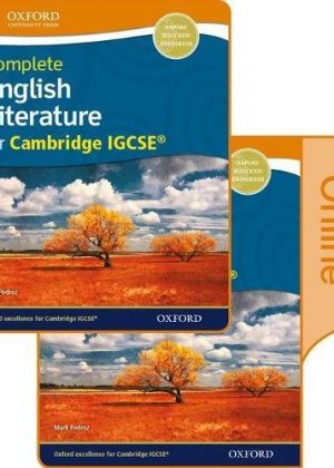 Complete English Literature for Cambridge IGCSE Print & Online Student Book by Mark Pedroz
