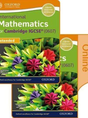 International Maths for Cambridge IGCSE Print & Online Student Book by Jim Fensom