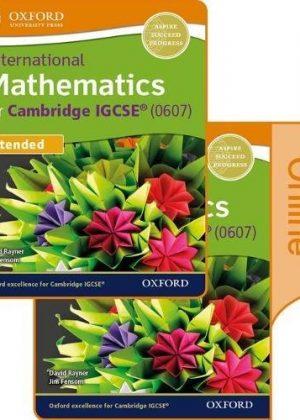 International Maths for Cambridge IGCSE Print & Online Student Book by Jim Fensom