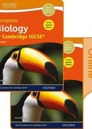 Complete Biology for Cambridge IGCSE Print and Online Student Book Pack by Ron Pickering