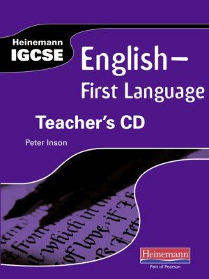 Heinemann IGCSE English - First Language Teacher's CD by Peter Inson