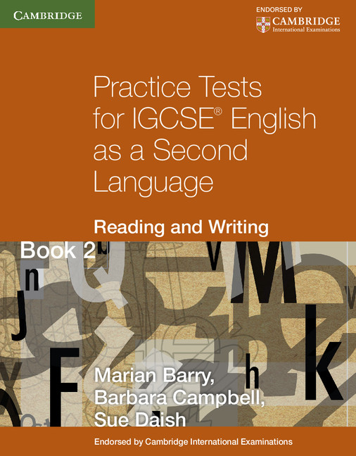 Practice Tests for IGCSE English as a Second Language: Reading and Writing Book 2 by Marian Barry