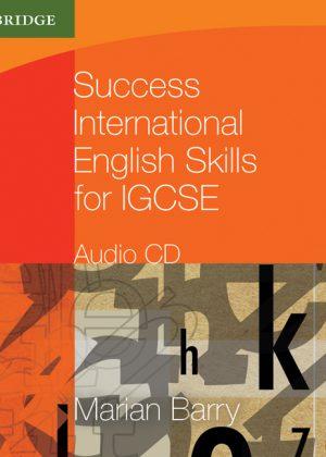 Success International English Skills for IGCSE Audio CD by Marian Barry