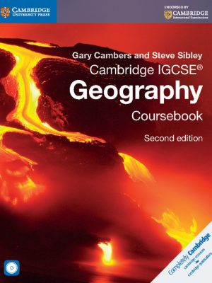 Cambridge IGCSE Geography Coursebook with CD-ROM by Gary Cambers