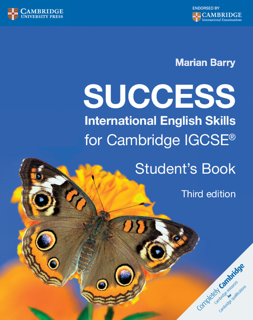 Success International English Skills for Cambridge IGCSE Student's Book by Marian Barry