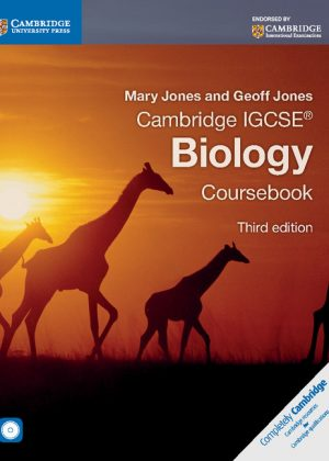 Cambridge IGCSE Biology Coursebook with CD-ROM by Mary Jones