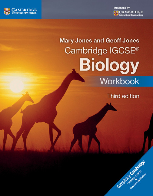 Cambridge IGCSE Biology Workbook 3rd Edition by Mary Jones