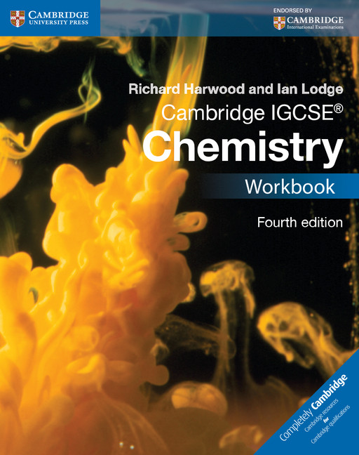 Cambridge IGCSE Chemistry Workbook by Richard Harwood
