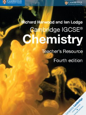 Cambridge IGCSE Chemistry Teacher's Resource CD-ROM by Richard Harwood