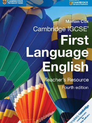 Cambridge IGCSE First Language English Teacher's Resource by Marian Cox