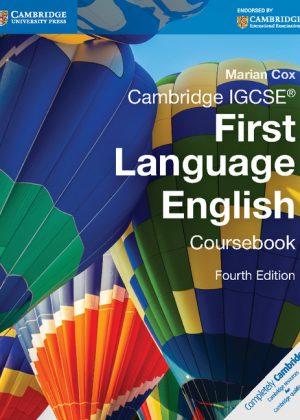 Cambridge IGCSE First Language English Coursebook by Marian Cox