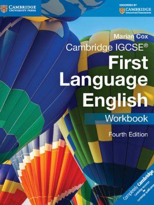 Cambridge IGCSE First Language English Workbook by Marian Cox