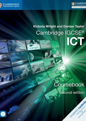 Cambridge IGCSE ICT Coursebook with CD-ROM by Victoria Wright