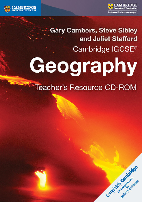Cambridge IGCSE Geography Teacher's Resource CD-ROM by Gary Cambers