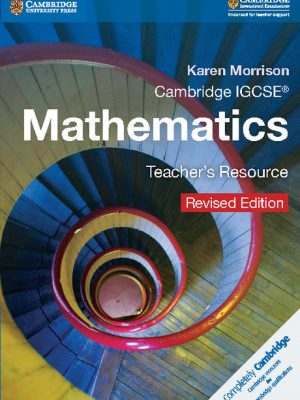 Cambridge IGCSE Mathematics Teacher's Resource CD-ROM by Karen Morrison
