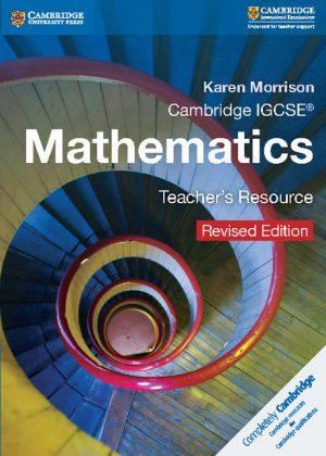 Cambridge IGCSE Mathematics Teacher's Resource CD-ROM by Karen Morrison