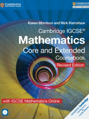 Cambridge IGCSE Mathematics Core and Extended Coursebook with CD-ROM and IGCSE Mathematics Online Revised Edition by Karen Morrison