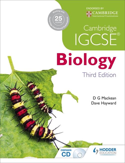 Cambridge IGCSE Biology by D. G. Mackean