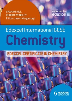 Edexcel International GCSE and Certificate Chemistry Student's Book & CD by Graham Hill