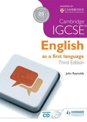Cambridge IGCSE English First Language with CD by John Reynolds