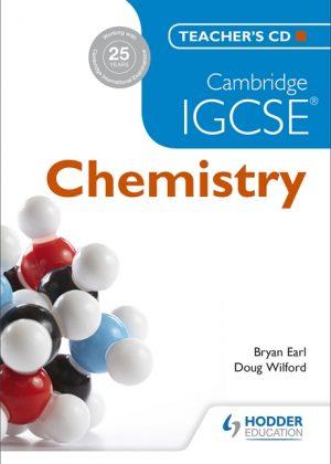 Cambridge IGCSE Chemistry Teacher's CD by Bryan Earl