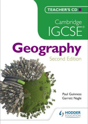 Cambridge IGCSE Geography Teacher's CD by Paul Guinness
