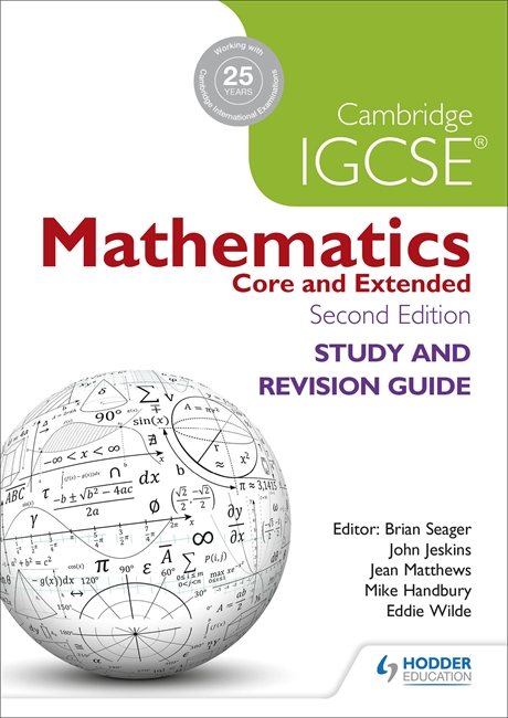 Cambridge IGCSE Mathematics Study and Revision Guide by Brian Seager