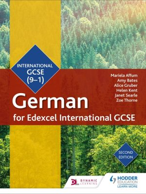 Edexcel International GCSE German Student Book 2nd Edition by Mariela Affum