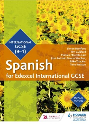 Edexcel International GCSE Spanish Student Book 2nd Edition by Simon Barefoot