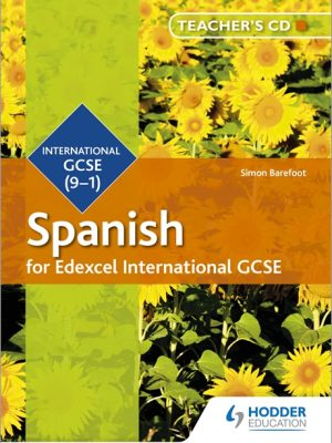 Edexcel International GCSE Spanish Teacher's CD 2nd Edition by Simon Barefoot