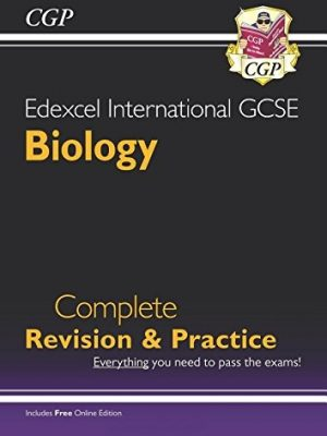 Edexcel Certificate/International GCSE Biology Complete Revision & Practice with Online Edition (A*-G) by CGP Books