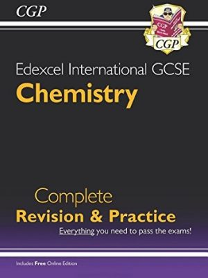 Edexcel Certificate/International GCSE Chemistry Complete Revision & Practice with Online Edition (A*-G) by CGP Books