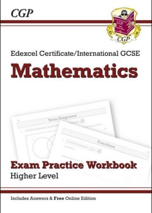 Edexcel Certificate/International GCSE Maths Exam Practice Workbook with Ans & Online Edition (A*-G) by CGP Books
